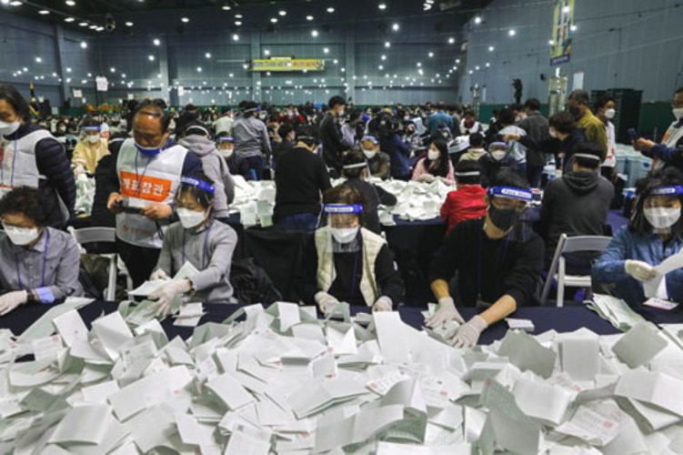 Report: Fraud likely in South Korea election