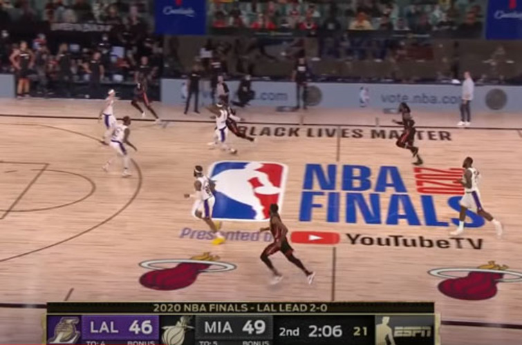 Airball: Ratings at record low for politicized NBA finals