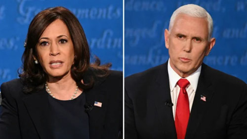 VP debate: Pence brushed off fly and dominated Harris