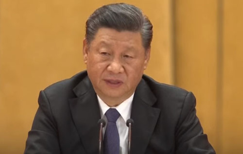 People of China 'are not to be trifled with,' Chairman Xi warns