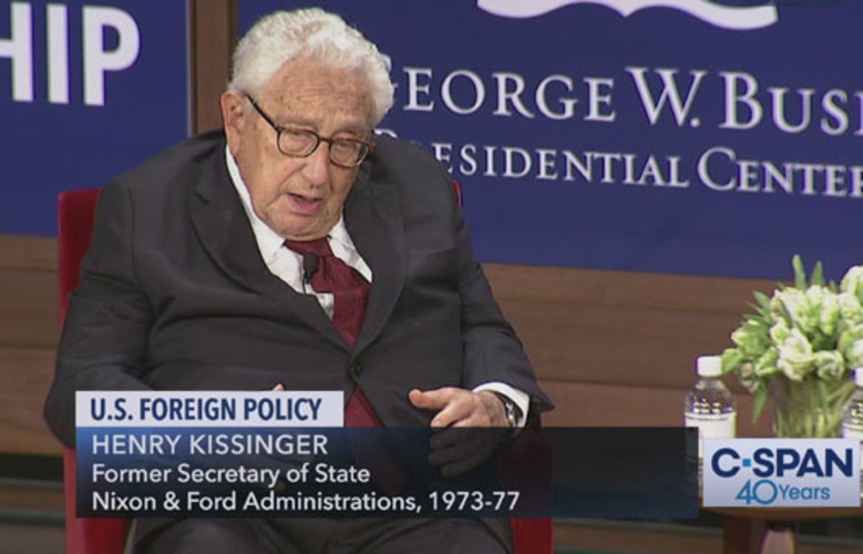 Trump maintains tough China policy; Kissinger seeks appeasement