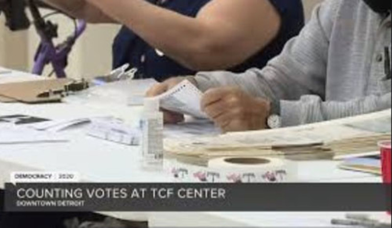 Detroit poll watcher saw no ballots disqualified