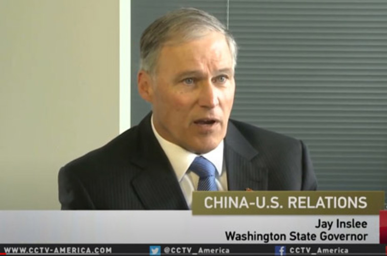 Democrat Gov. Inslee offered rocketry tech to China