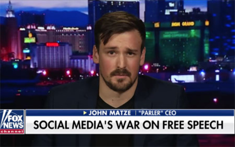 Parler may be down for week, CEO slams Twitter, Facebook