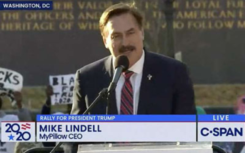 The Purge comes for My Pillow CEO Mike Lindell