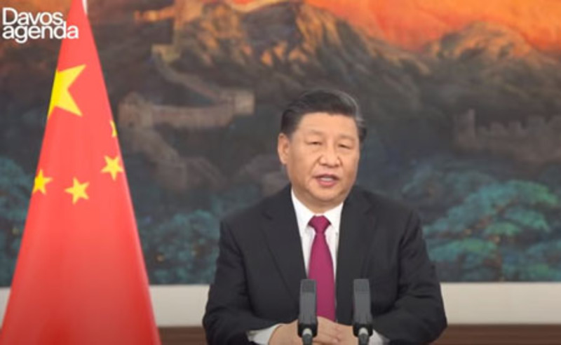 At Davos, Xi hails 'open world economy', signals Biden to toe line