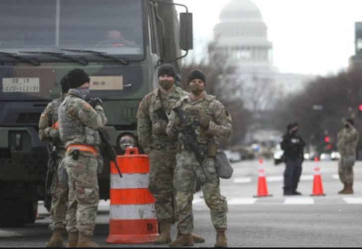 Military occupation of D.C. to continue through Fall
