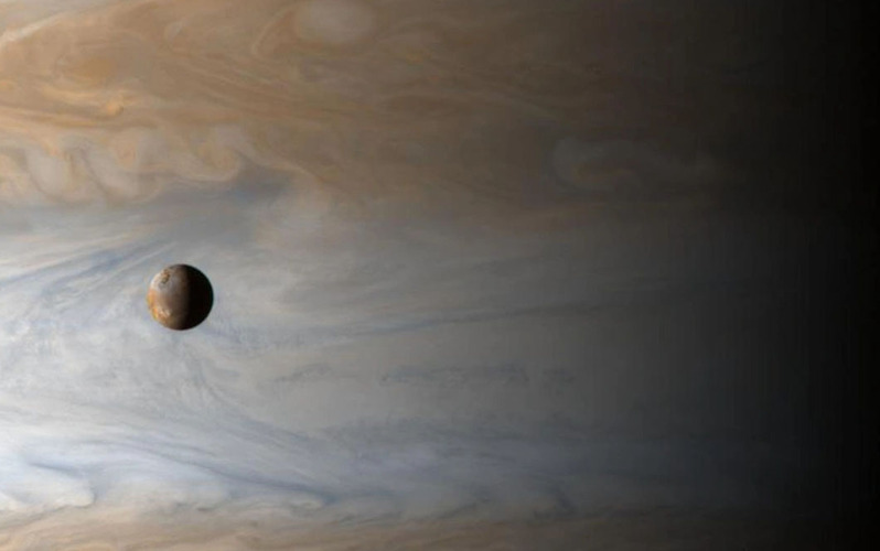 The moons of Jupiter lure space powers