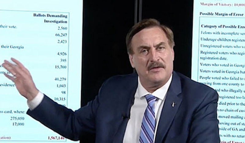 Census data used in attack on 2020 election, Lindell says