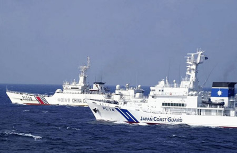 China ships continue to enter Japanese waters