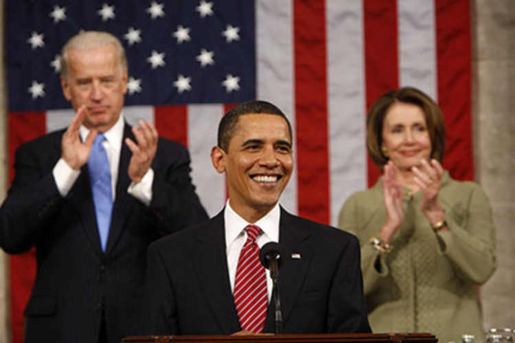 Remember when Obama was front and center?