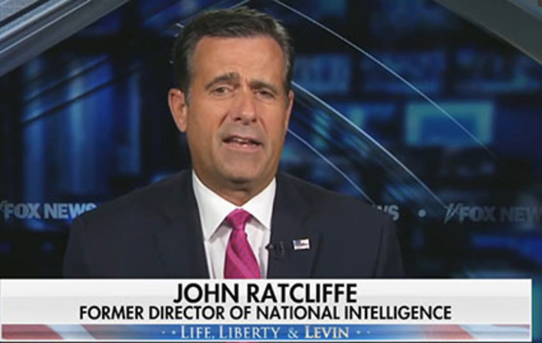 Ratcliffe: Biden is 'greatest national security threat we face'