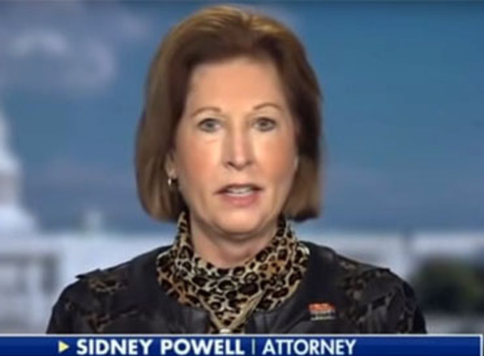 Sidney Powell files counter lawsuit againt Dominion