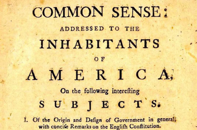 'Common Sense': Back in 1776 and now in 2020, Americans have a choice