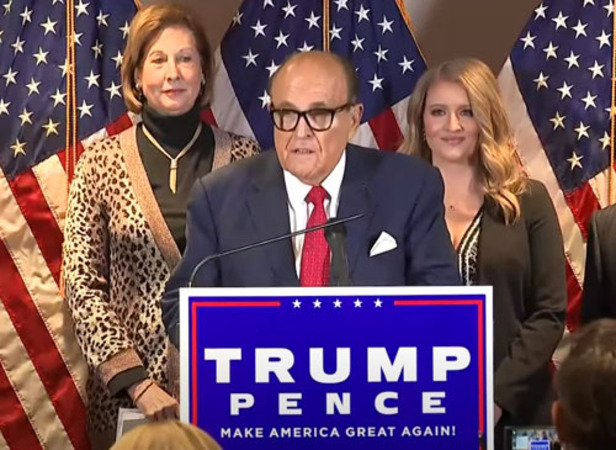 'More than double' number of votes to overturn election results, Giuliani says
