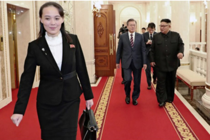 Little sister or big brother: Who's in charge in N. Korea?