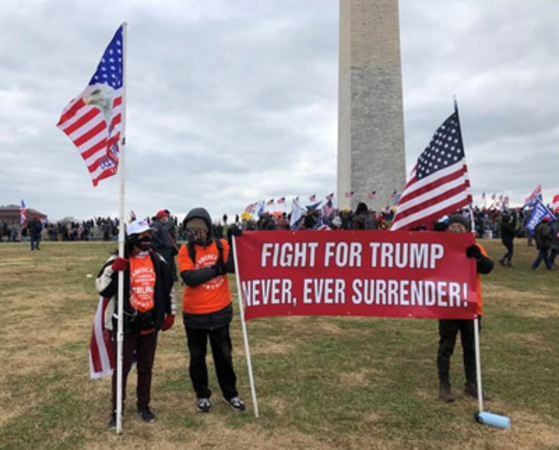 Chinese Americans stood out at Jan. 6 rally in D.C.