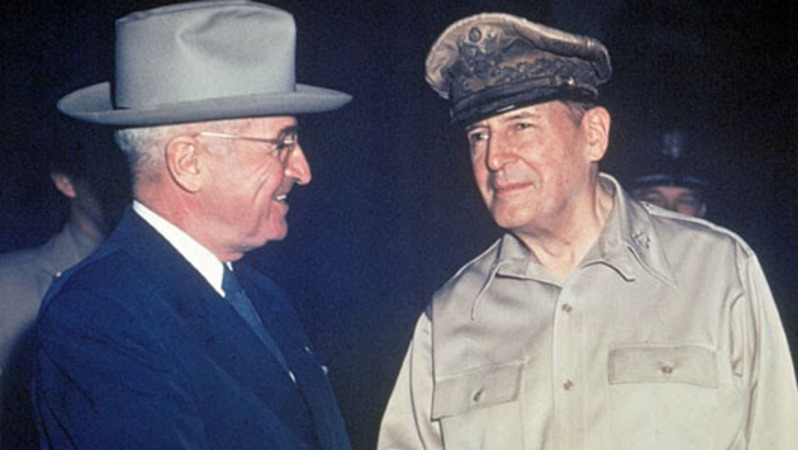 MacArthur: 'There can be no compromise with atheistic communism'