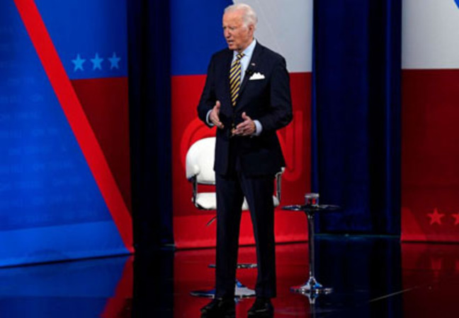 Biden bows to China on concentration camps, Hong Kong