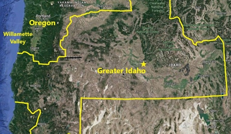 Counties set vote on bailing from Oregon for 'Greater Idaho'
