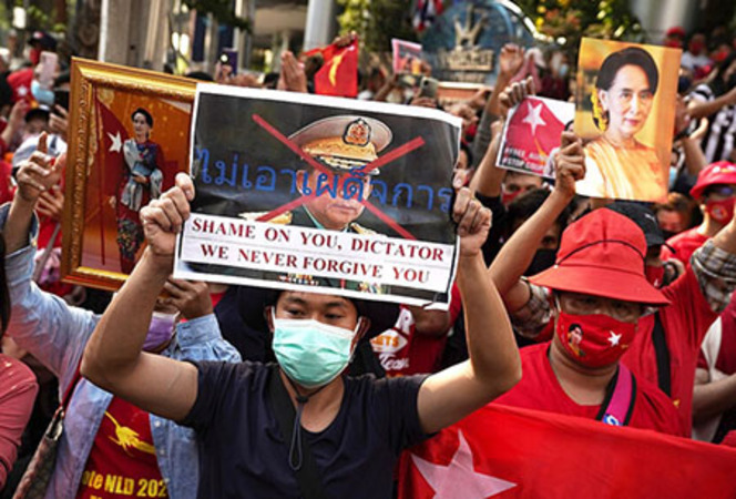 Verbal angst at the UN but no action on Burma in China's backyard