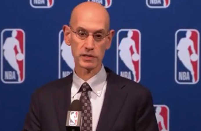 NBA commissioner: Sports can 'transform' society