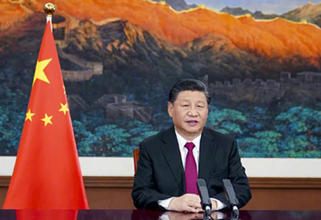 Chairman Xi plans to control global Internet