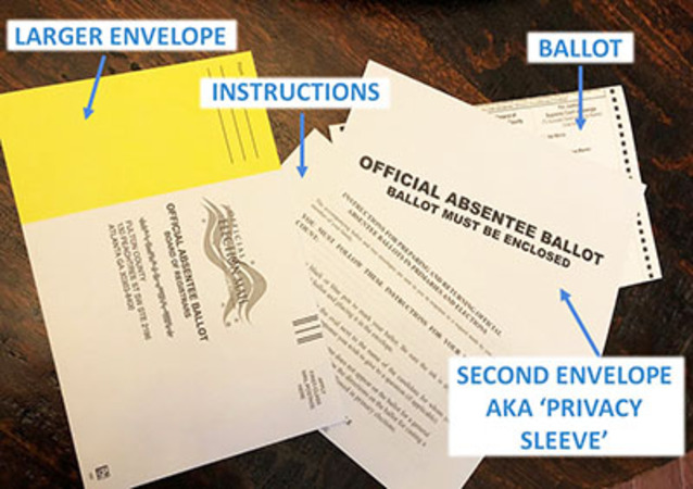 Affidavits convinced judge to unseal Fulton County ballots