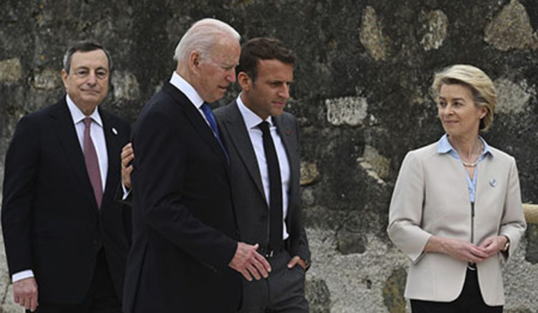 Biden buys the world a jab at U.S. taxpayers' expense