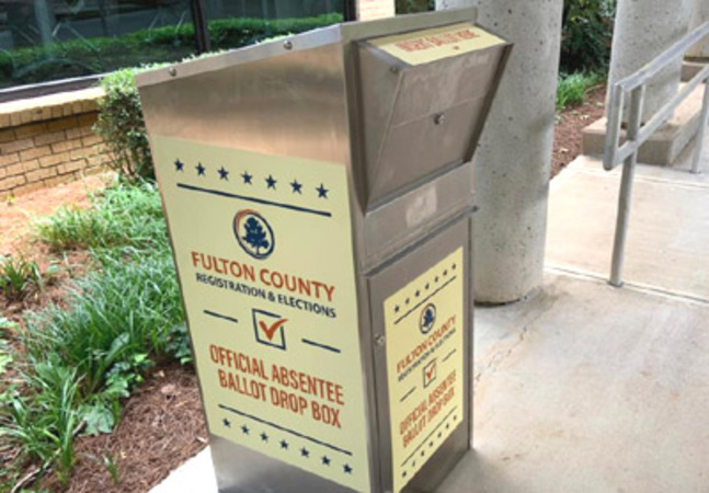 Report: 'Traffickers' dumped thousands of ballots in Georgia drop boxes