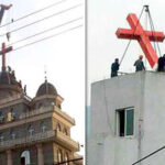 Communist Party forces churches in China replace crosses with five-pointed star