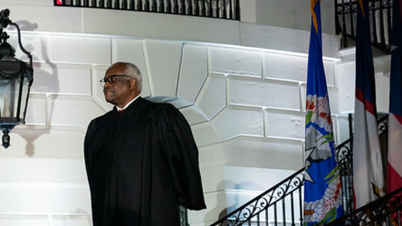 Justice Clarence Thomas Just Signaled That He's Ready to Nuke Social Media