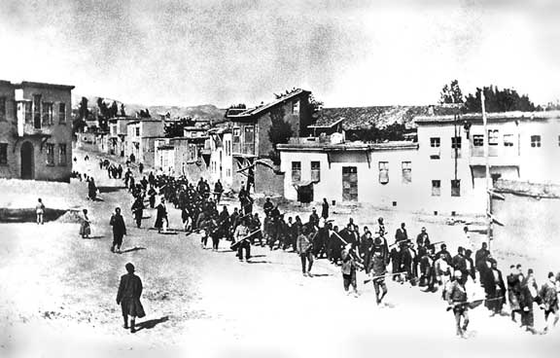 The Armenian Genocide is a reminder of  the dangers of what  Tyranny can do, and why any rising Tyranny of needs to be challenged before its too late