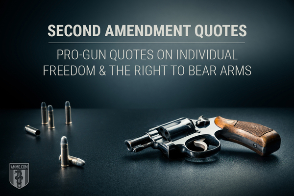 Second Amendment Quotes: Pro-Gun Quotes on Individual Freedom and the Right to Bear Arms