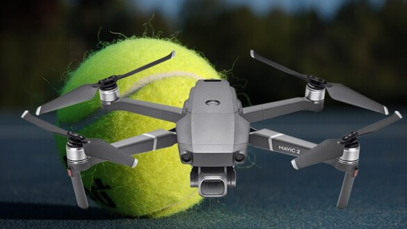 Lessons for drone defense from a tennis ball