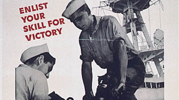 WWII Posters Aimed to Inspire, Encourage Service