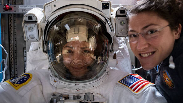 NASA to Televise First All-Female Spacewalk, Host Media Teleconference