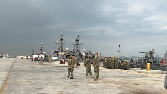 International Unit Serves Critical Role in Persian Gulf