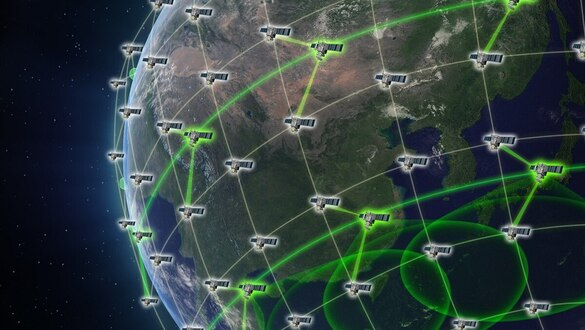 Can hundreds of unrelated satellites create a GPS backup?