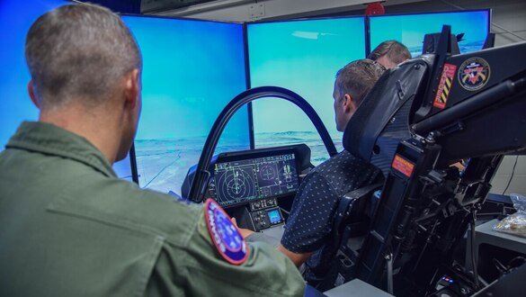 Coming in 2020: A new technology to link F-35 simulators across the globe
