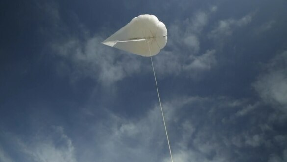 Yes, a balloon/kite might improve battlefield networks