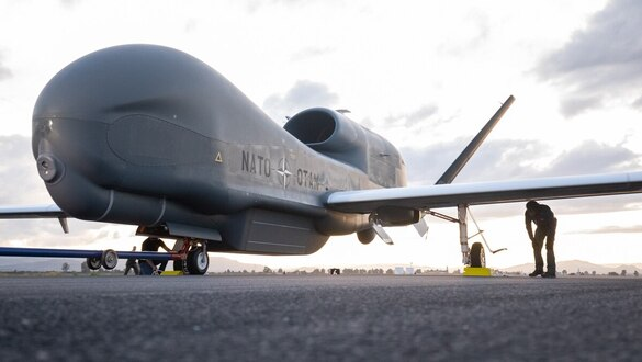New NATO surveillance drones bet on Italian safety ruling