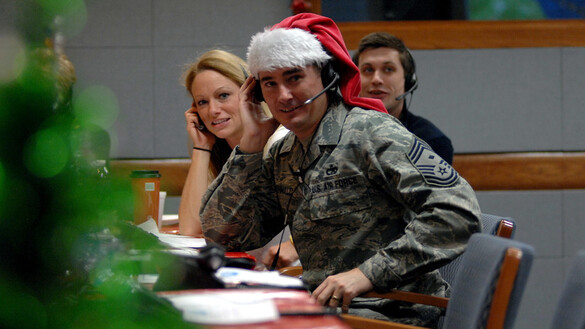 Tracking Santa: A Holiday Troop Tradition