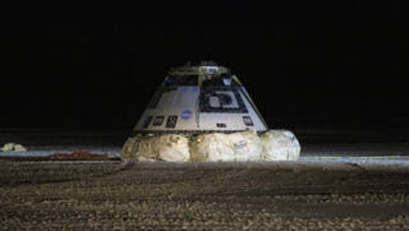 NASA, Boeing Complete Successful Landing of Starliner Flight Test