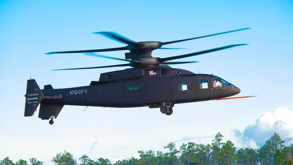 Watch the Defiant helicopter exceed 100 knots