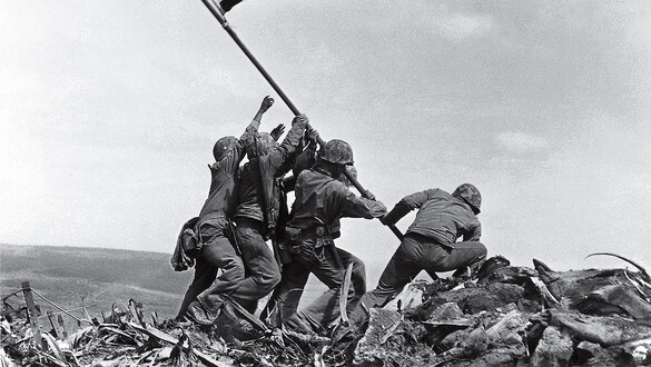 'We thought it was over' — Marine veteran recalls the flag raising on Iwo Jima and the harrowing days that followed