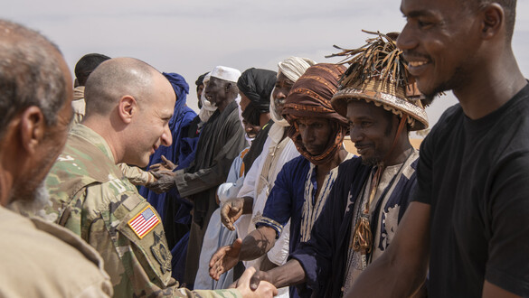 U.S. Soldiers Partner With Vets to Protect Cattle in Mauritania