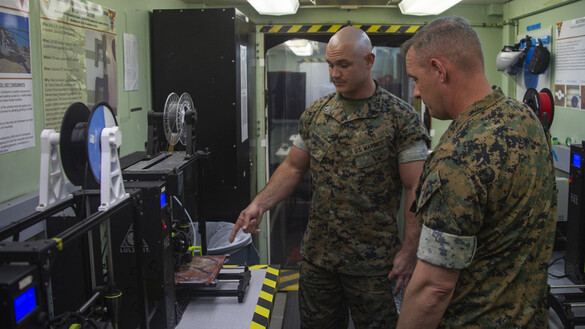 Marines Put 3D Printing to Use in COVID-19 Fight