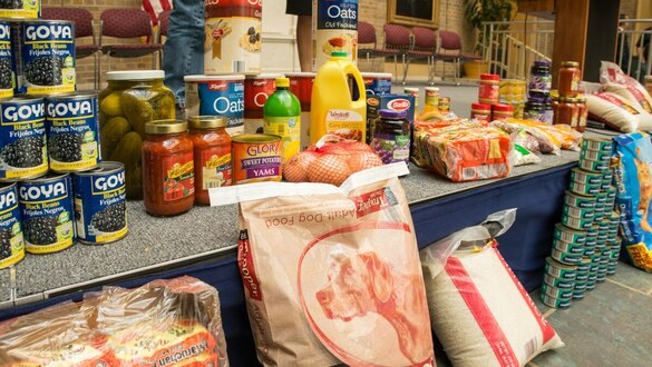 Federal food drive goes virtual to tackle hunger during the pandemic