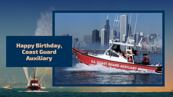 Happy Birthday Coast Guard, Auxiliary
